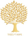 Trees of Hope Logo gold s